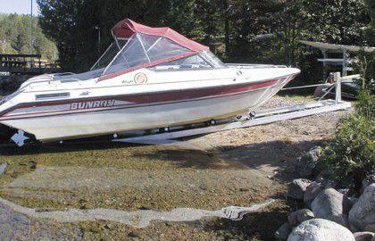 20 Feet Boat Roller � Double Rollers