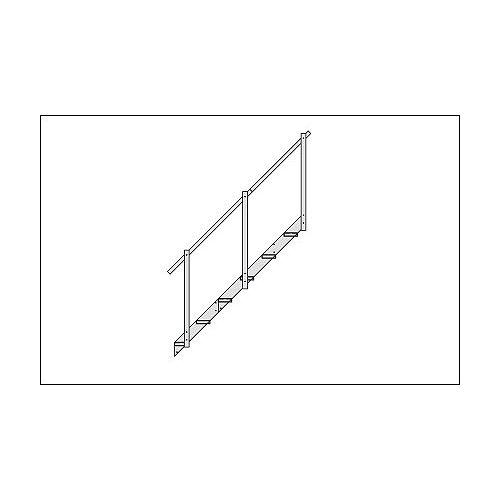 Fendock 4-Step Aluminum Dock Stairs Extension