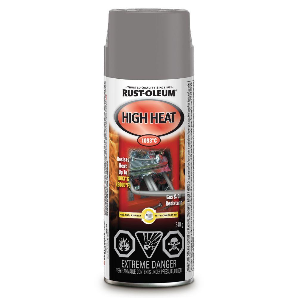 Auto High Heat Paint Flat Alum