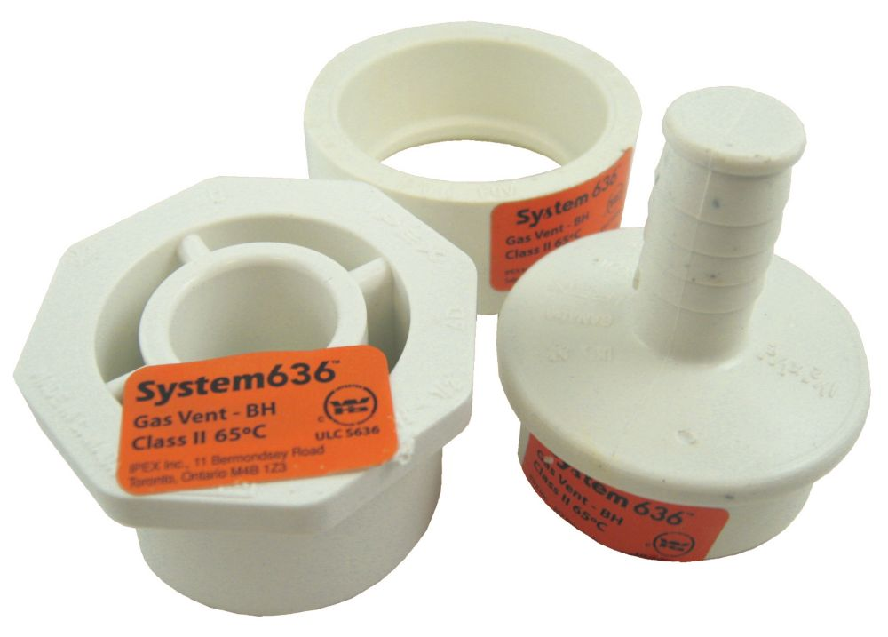 PVC-FGV CONDENSATE DRAIN KIT 1-1/2 inches & 2 inches - System 636<sup>®</sup>