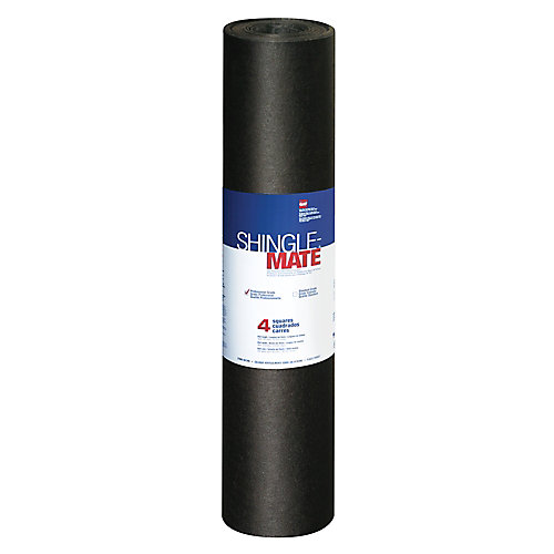 Shingle-Mate Roof Deck Protection Underlayment 4 sq. (432 sq. ft.)