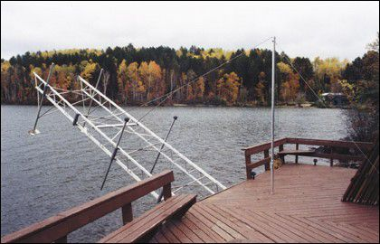 Dock Lift Kit with Tower � 4 Feet Wide