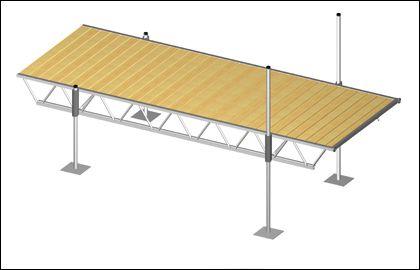 Modular Truss Dock 16 Feet x 6 Feet PN99404 in Canada