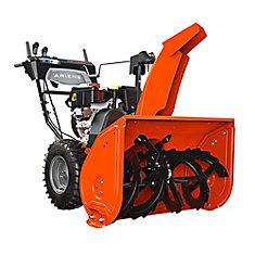 Deluxe 30, « Pelle » à neige de 76cm (30po) à essence à démarrage électrique et mécanisme à deux étages avec système de virage automatique