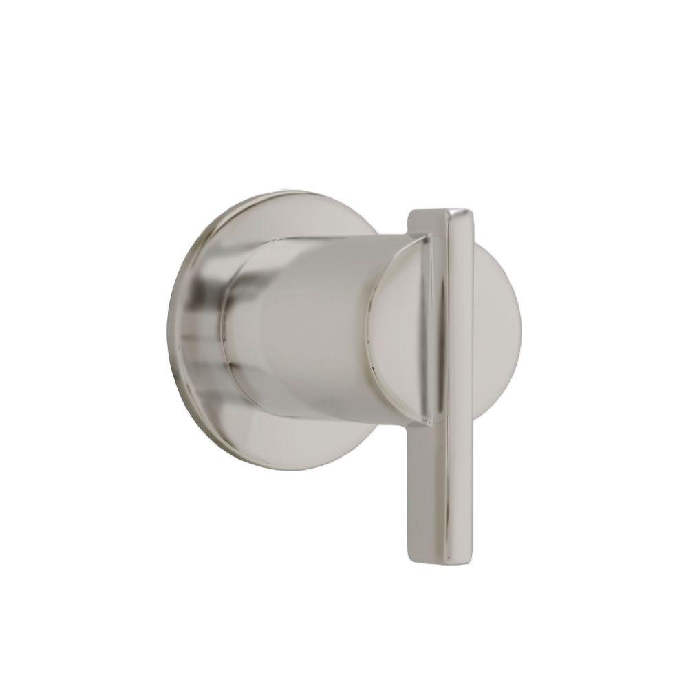 Berwick 1-Handle Diverter Valve Trim Kit in Satin Nickel (Valve Not Included)