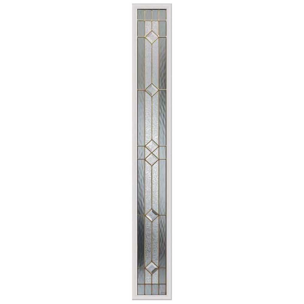 Odl Majestic 8 Inch X 64 Inch Sidelight Brass Caming With Hp Frame The Home Depot Canada