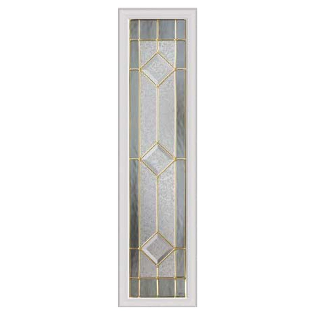 Majestic 08X36 Sidelight Brass Caming with HP Frame