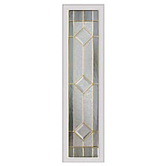 Majestic 8-inch x 36-inch Sidelight Brass Caming with HP Frame