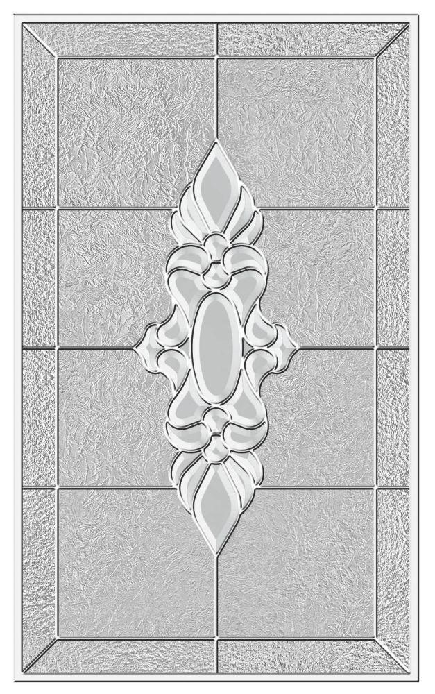 Langford 22x36 rubans platine nickel avec cadre HPMC