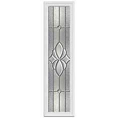 Langford 8-inch x 36-inch Sidelight Platinum Nickel Caming with HP Frame