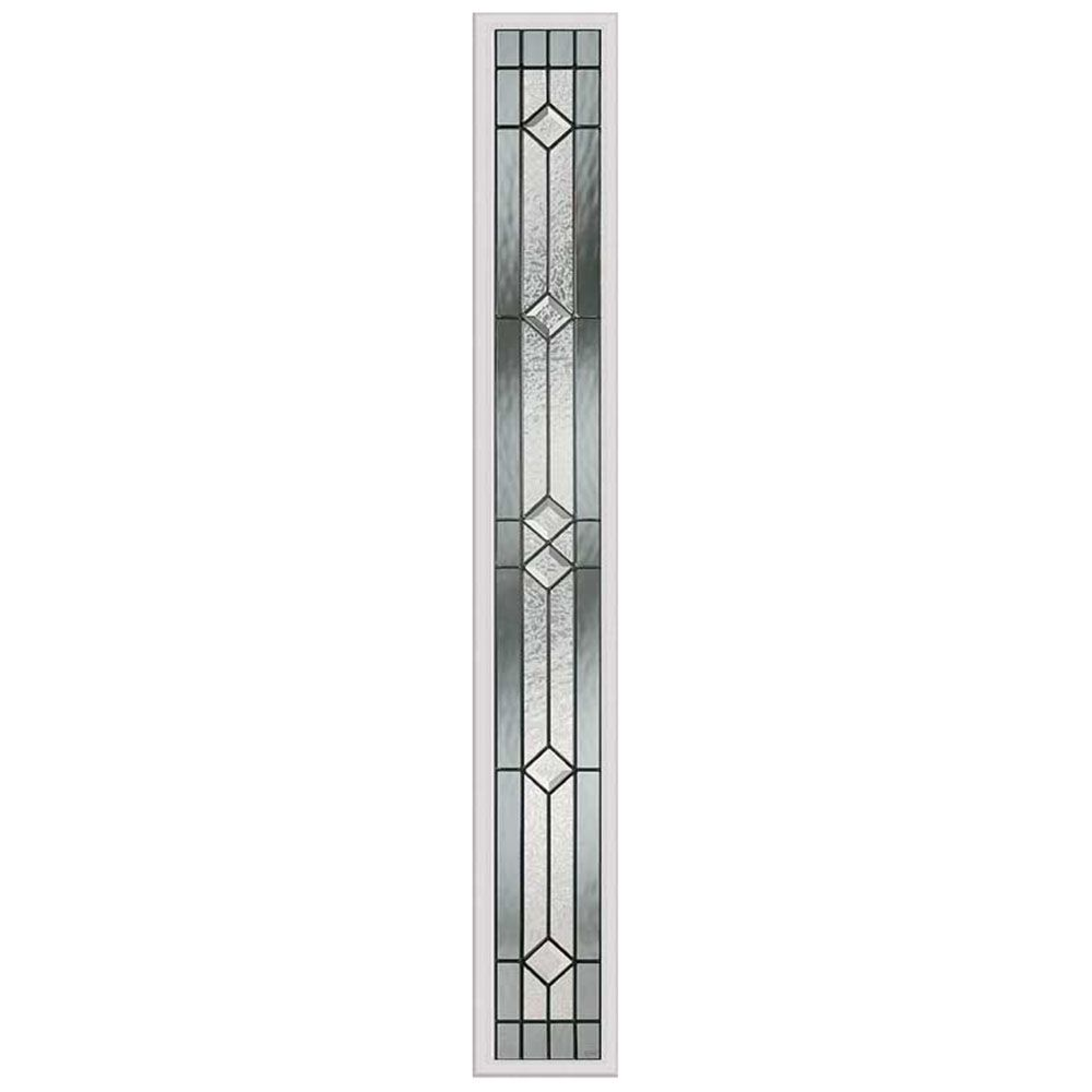 Majestic 7-inch x 64-inch Sidelight Patina Caming with HP Frame