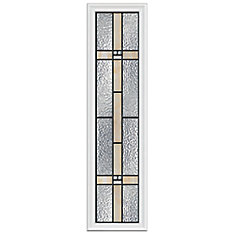 Portage 8-inch x 36-inch Sidelight Patina Caming with HP Frame