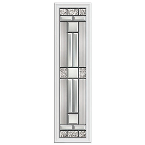 ODL Cordova 8-inch x 36-inch Sidelight Patina Caming with HP Frame ...