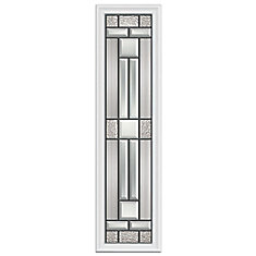 Cordova 8-inch x 36-inch Sidelight Patina Caming with HP Frame