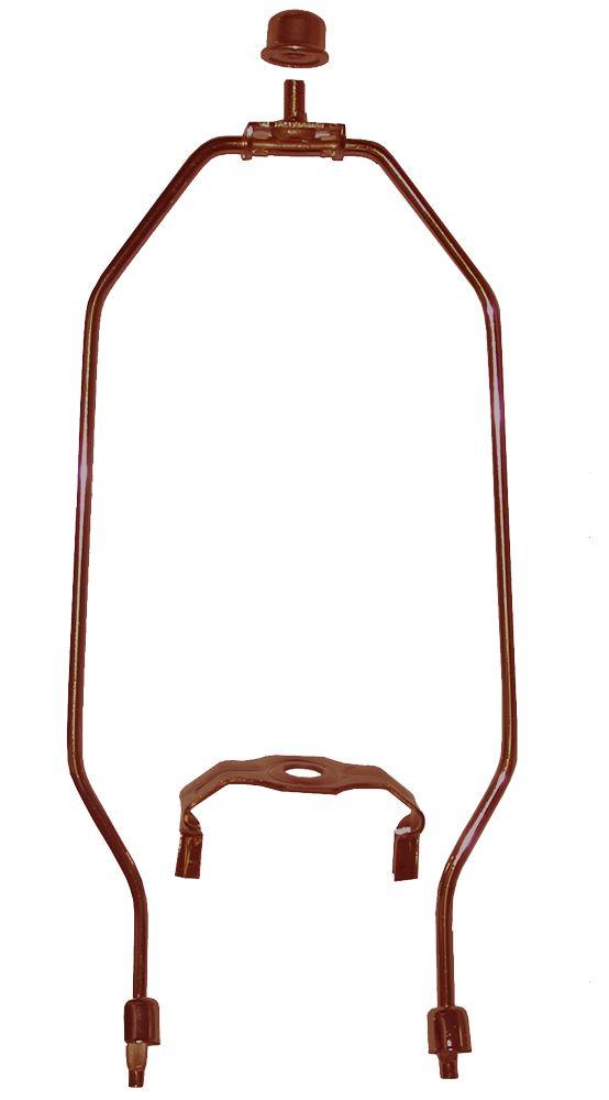 """Lyre de bronze brossé à l'huile - 9 """"(22.9 cm)"""