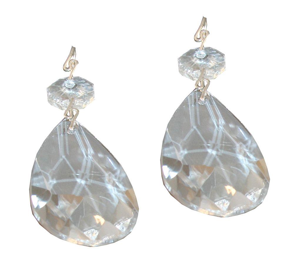 Crystal Prisms - 2 Inch (5.1 cm) 2 Piece