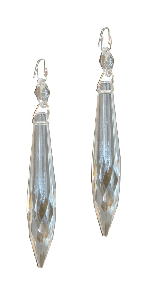 Crystal Prisms - 3 Inches 2 Piece