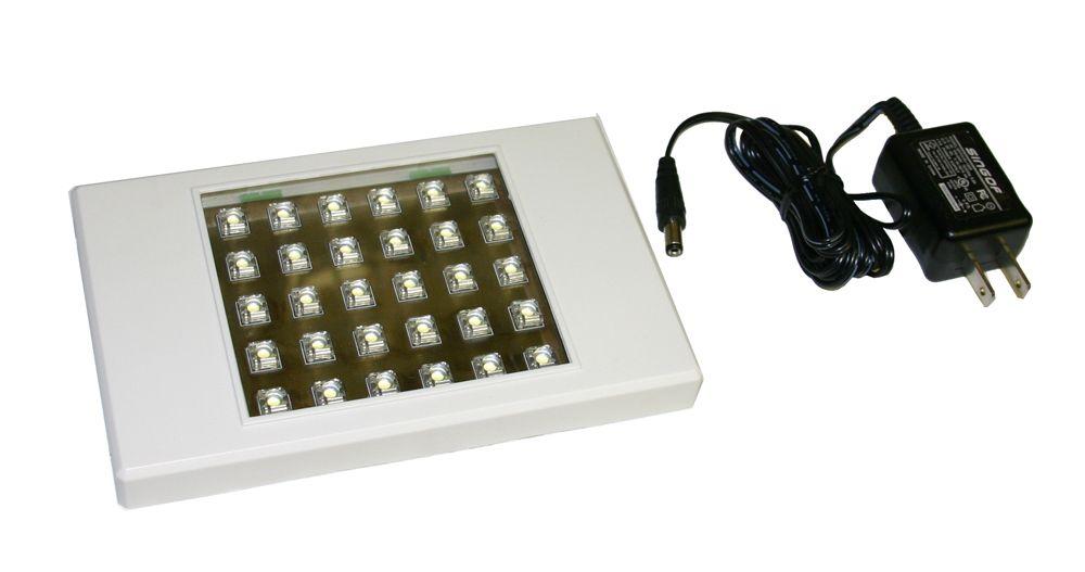 Lampe utilitaire carré de contact DEL