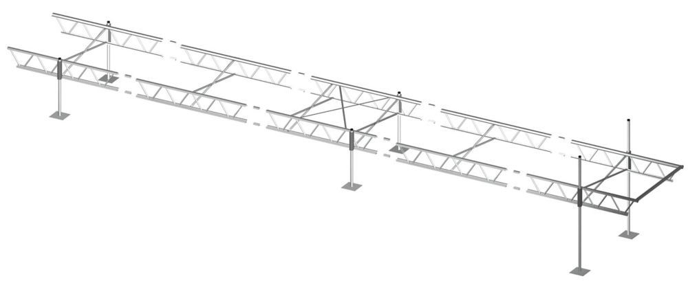 6 ft. x 40 ft. Modular Truss Dock
