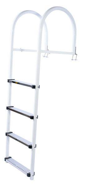 Échelle haut de gamme en aluminium avec marches en PVC