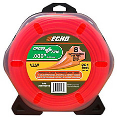 .080 Crossfire Line for String Trimmers 1/2 lb. Donut for String Trimmer