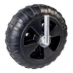 Fendock Deluxe 8-inch W x 24-inch Dia Polyethylene Dock Wheel Kit