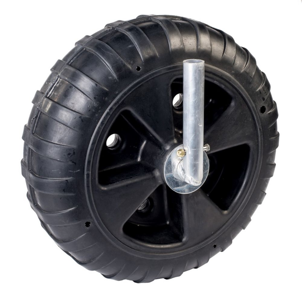 Fendock Deluxe 8-inch W x 24-inch Dia Polyethylene Dock Wheel Kit