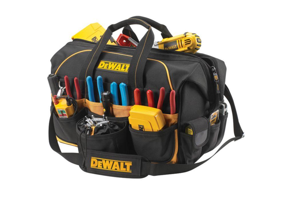 DEWALT 18 In. Pro-Contractor's Closed Top Bag