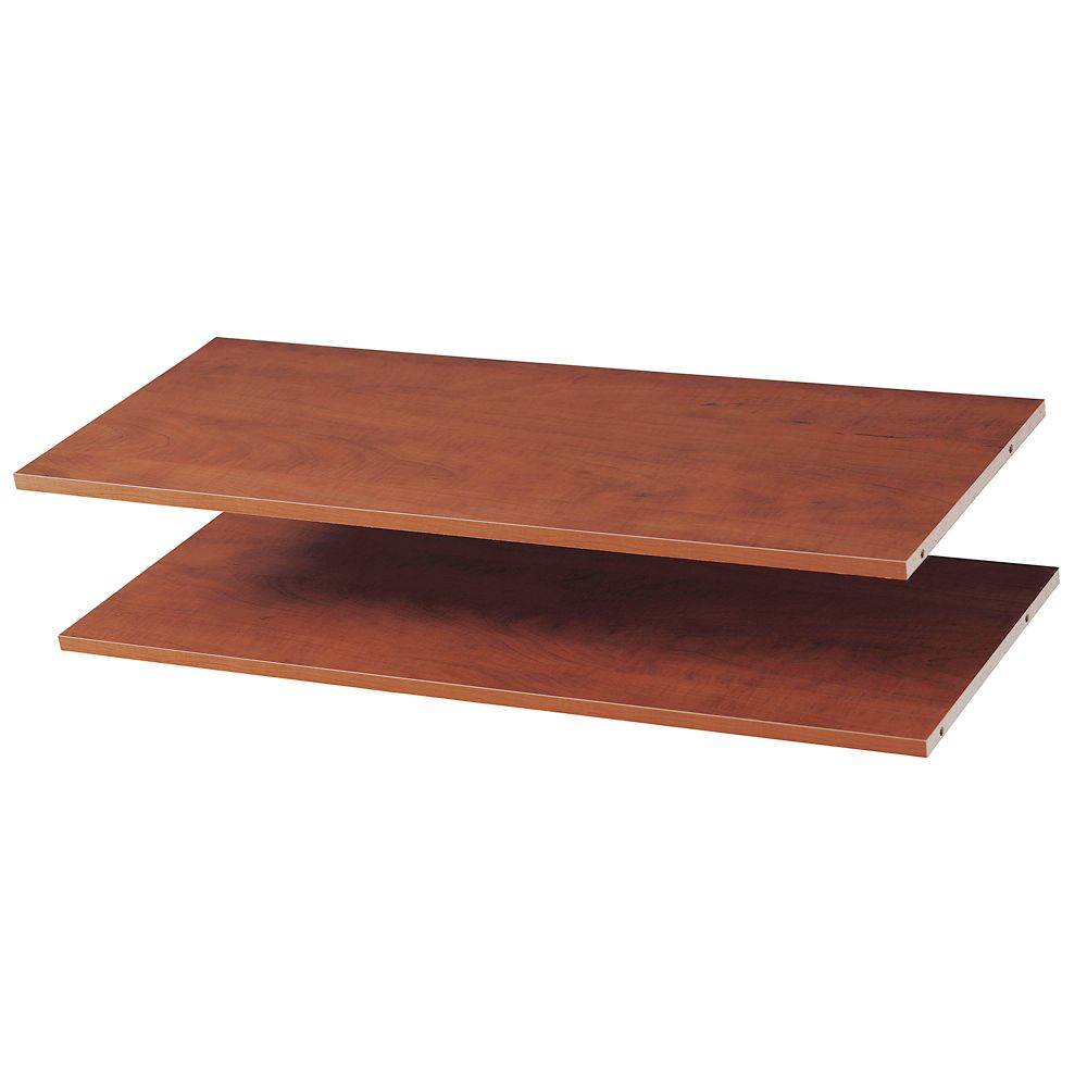 35 Inches Shelves (2 Pack) - Cherry