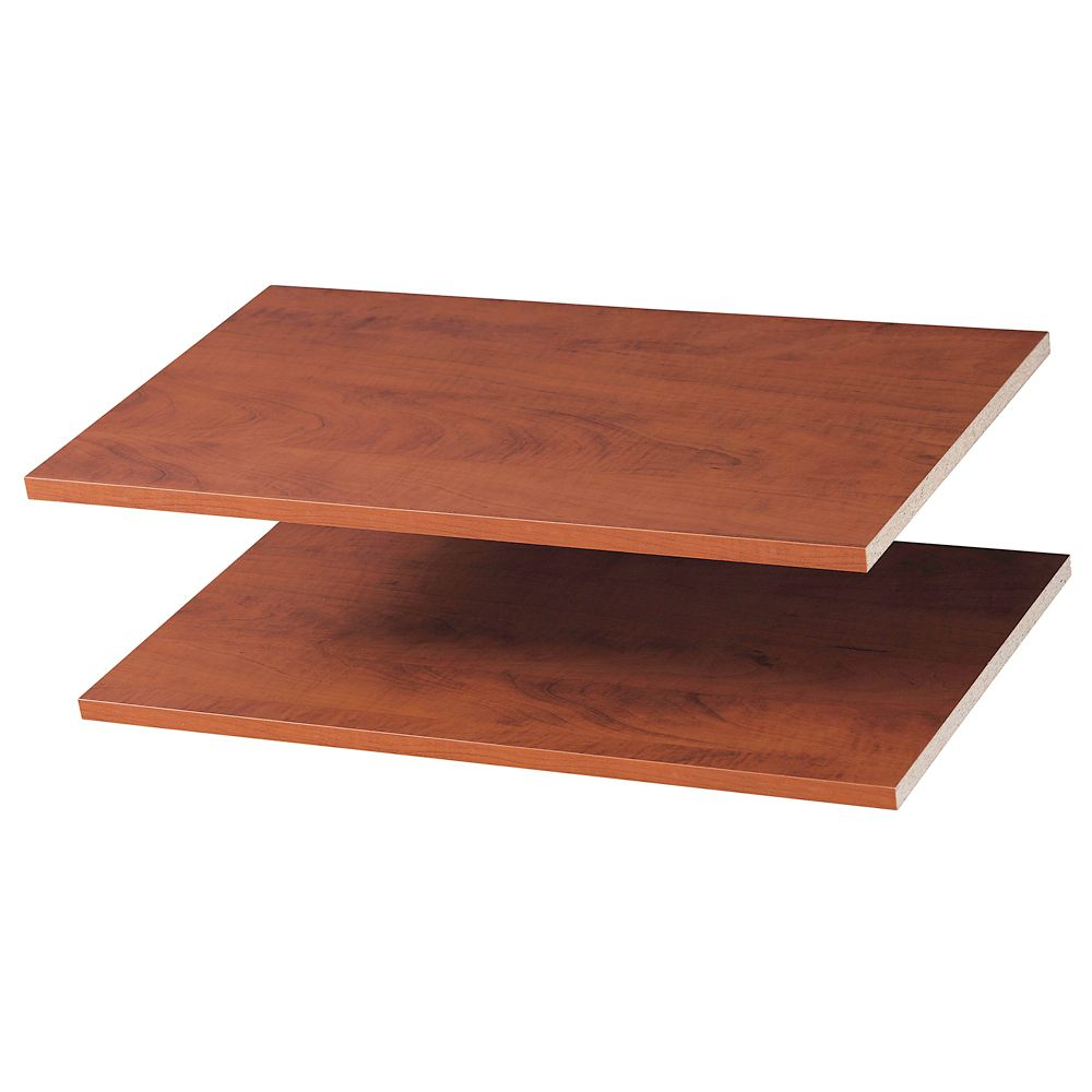 24 Inches Shelves (2 Pack) - Cherry