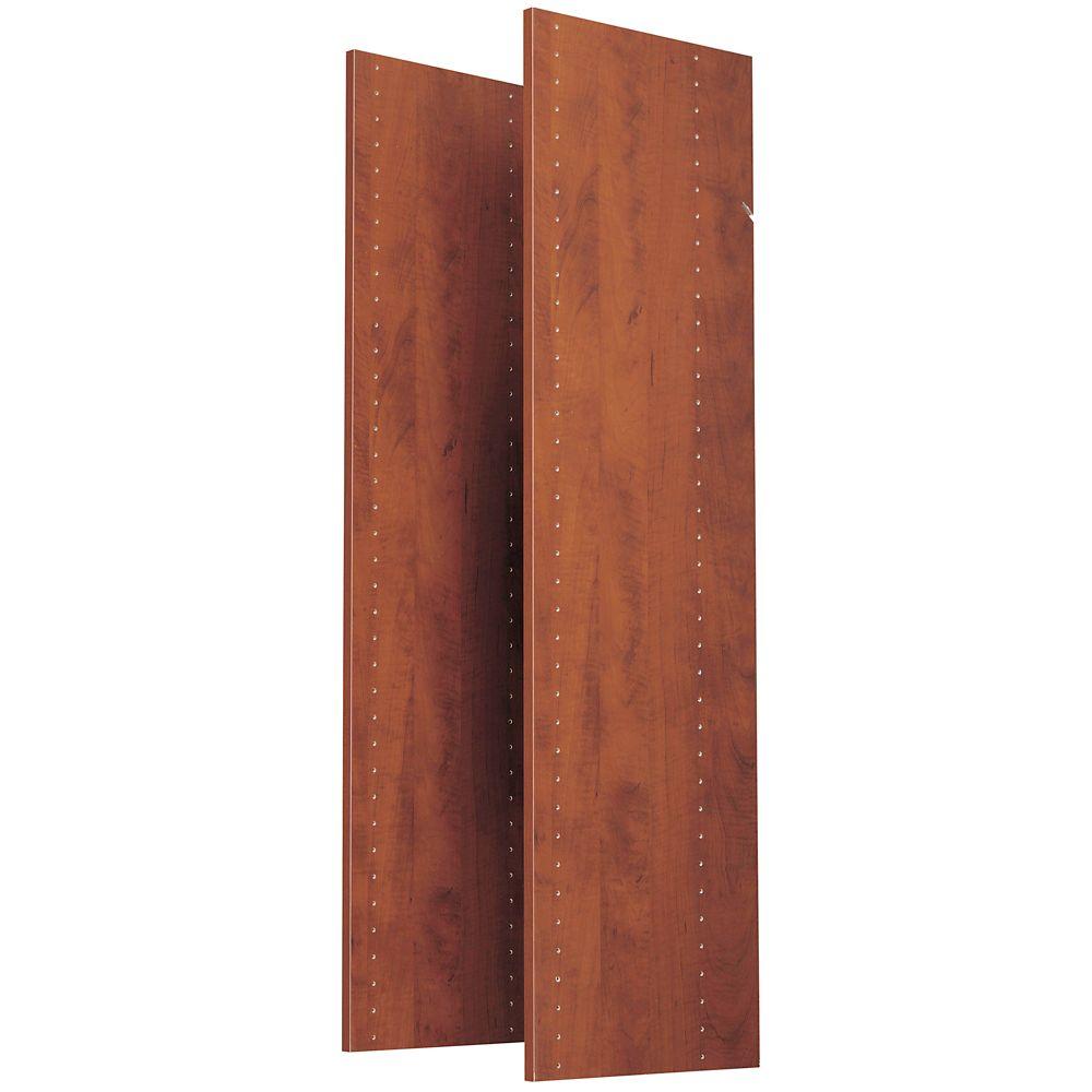 1.22 m panneaux verticaux (paquet de 2) - cerise