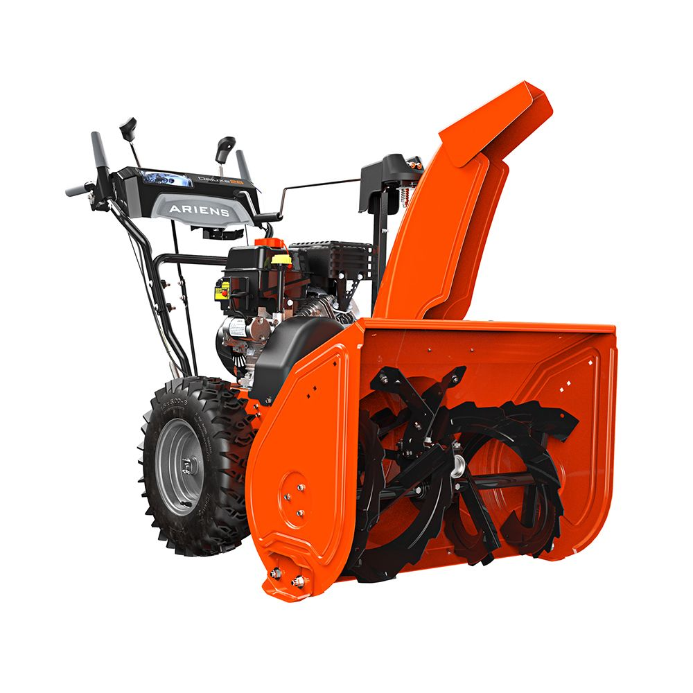 120V Deluxe Sno-Thro Electric Start Gas Snow Blower with 28-inch Clearing Width