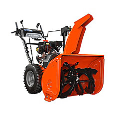 120V Deluxe Gas-Powered Sno-Thro with 254cc Engine