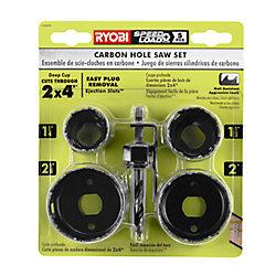 RYOBI 5-Piece Hole Saw Set