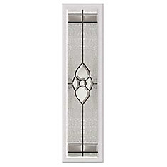 Nouveau 8-inch x 36-inch Sidelight Patina Caming with HP Frame