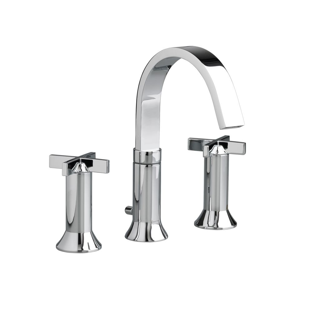 Berwick 8-inch Widespread 2-Handle Bathroom Faucet with Speed Connect Drain in Polished Chrome
