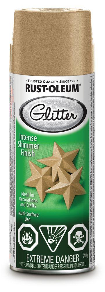 Specialty Glitter Aerosol Gold