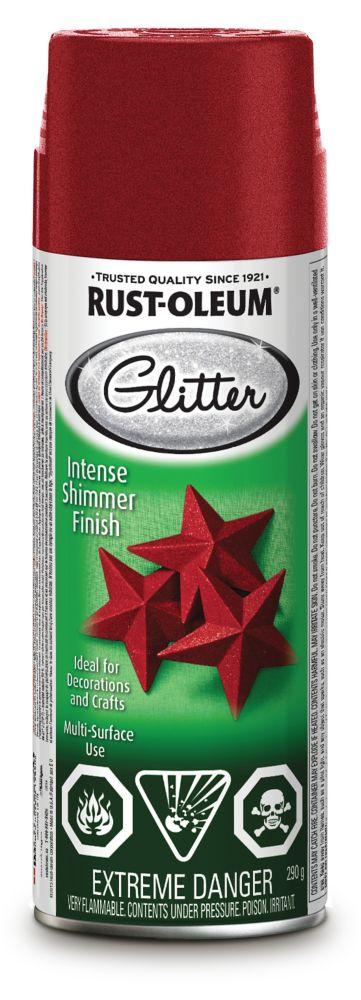 Specialty Glitter Aerosol Red