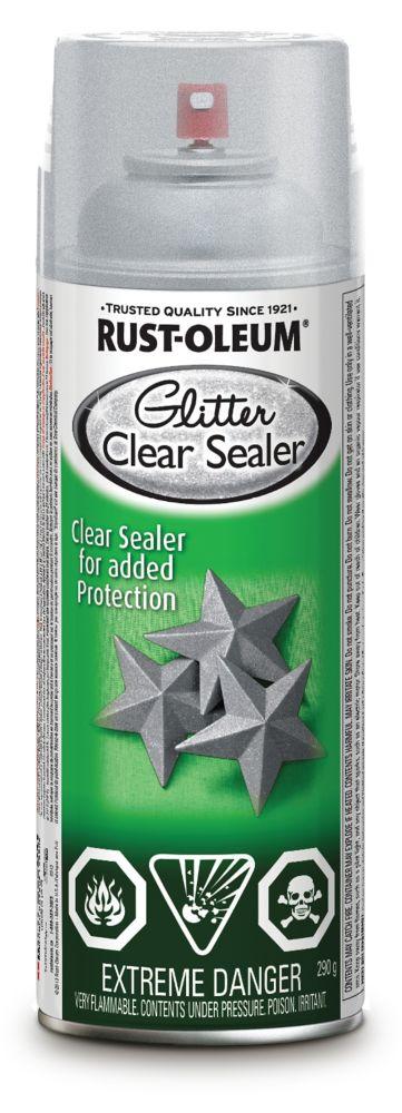 Specialty Glitter Aerosol Clear Sealer