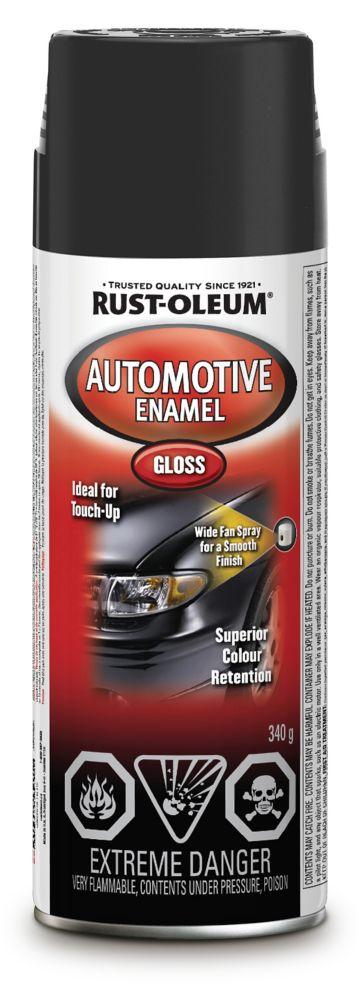Émail automotive - Noir