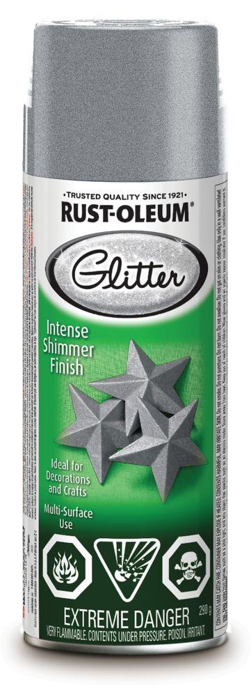 Specialty Glitter Aerosol Silver