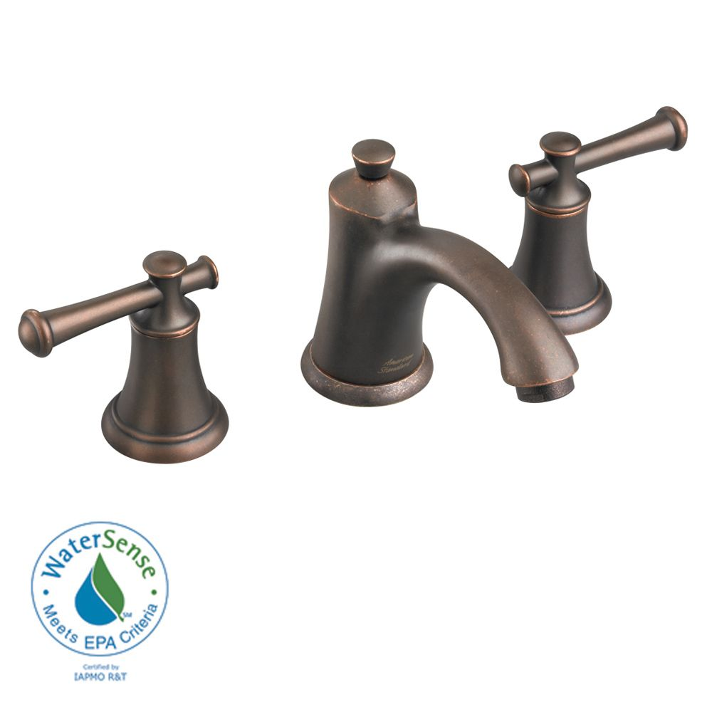 Portsmouth 2-Handle Bathroom Faucet with Speed Connect Drain in Oil Rubbed Bronze