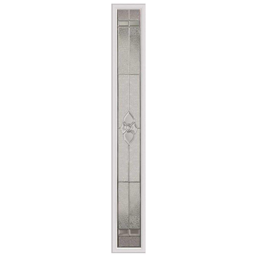 Panneau vitré latéral nouveau 07x64 rubans nickel avec cadre HPMC