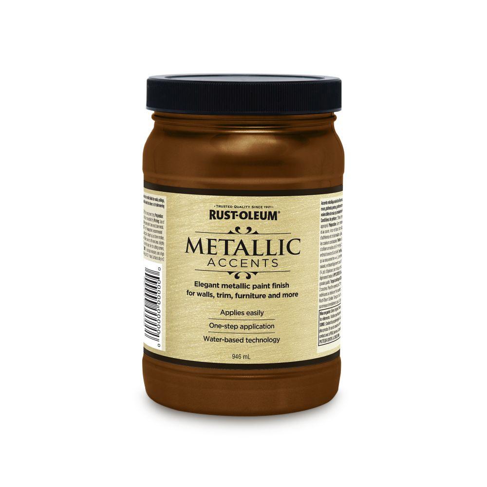 Rust-Oleum Metallic Accents Classic bronze