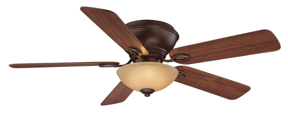 Renwick Ceiling Fan in Oil Rubbed Bronze Finish - 52 Inches
