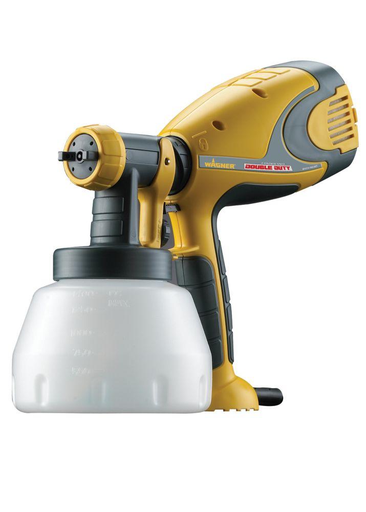 Control Spray Double Duty Paint Sprayer