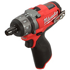M12 FUEL 12V Brushless Cordless 1/4-Inch Hex 2-Speed Screwdriver (Tool-Only)