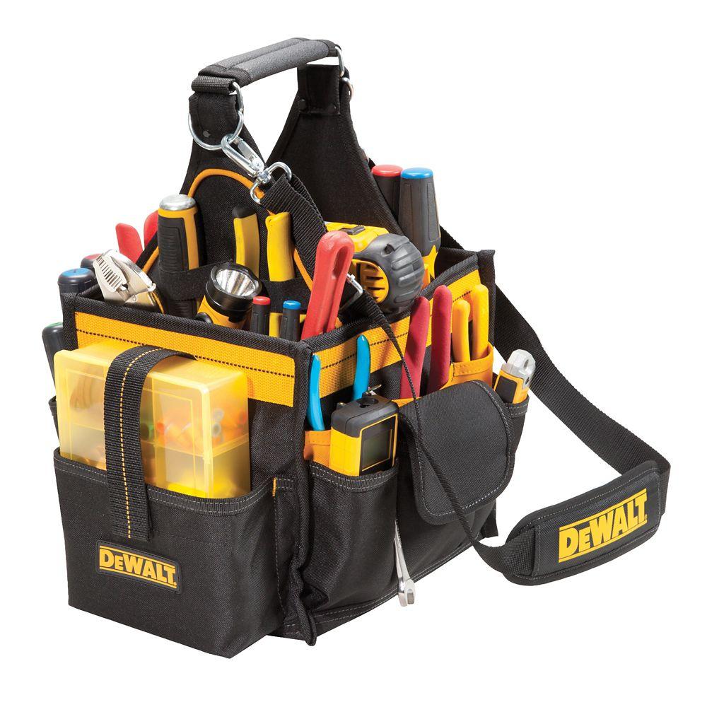 Boîte à outils 11 po pour lélectricien et le technicien en maintenance avec plateau à pièces