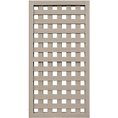 Yardistry 2 High Lattice Panel