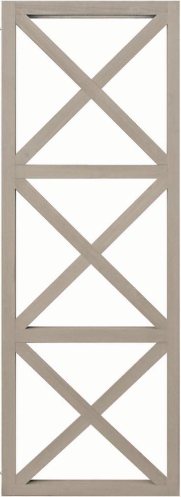 Yardistry 3 High X Panel